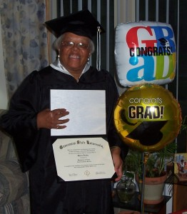 college tidbitscom m brady 06122010 262x300 79 Year old Woman Graduates from College