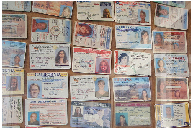 Image of Fake ID Wall of Shame