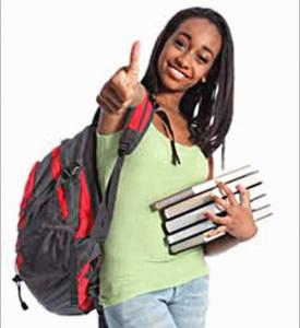 Image of youn black girl