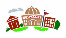 A Graphic of a College